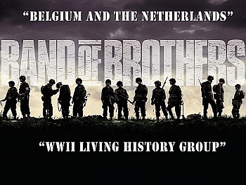 The living History Group is present www.band-of-brothers.be click here for more information